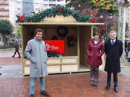 El Espolón acoge desde mañana un Mercado de Navidad con 15 puestos, photo call y actividades familiares