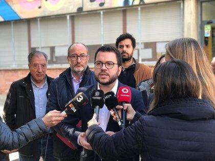 """Aragonès pide """"menos propaganda y más hechos"""" a Sánchez si quiere aprobar los PGE"""