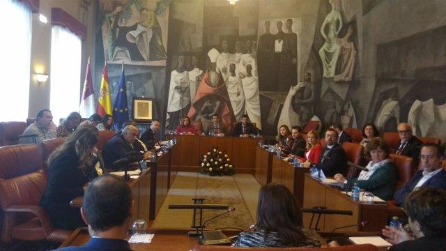 Pleno Diputación Ciudad Real