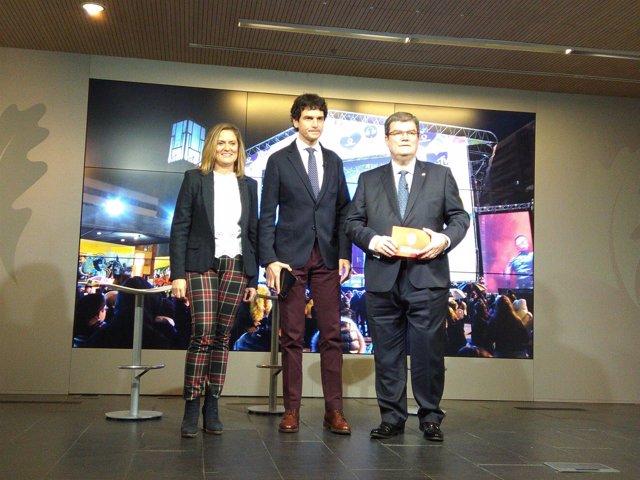 Amaia del Campo, Unai Rementeria y Juan Mari Aburto hacen balance de la MTV