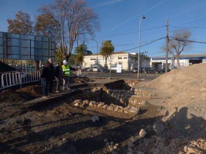 Las obras del entorno de la Plaza de Toros de Ciudad Real permiten certificar el trazado de la muralla medieval