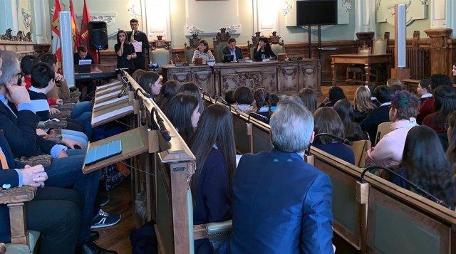 Acto del 40 Aniversario de la Constitución en el Ayuntamiento de Valladolid.5-12