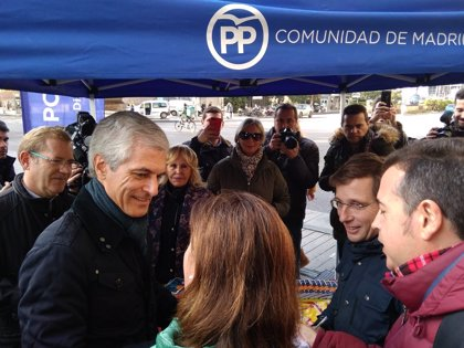 "Almedia afea a Carmena que homenajee al 15M, instrumentalizado en un partido que pretende ""romper el régimen del 78"""