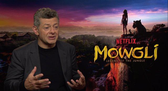 Andy Serkis dirige  Mowgli: La leyenda de la selva