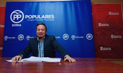 """PP no apoyará los presupuestos del Ayuntamiento de Soria """"si no hay oferta de empleo público"""""""