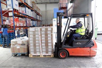 El Banco de Alimentos de Tenerife repartirá 180.000 kilos de comida entre los más desfavorecidos