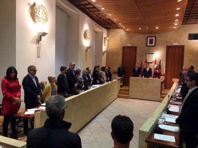 Pleno del Ayuntamiento de Salamanca 5-12-2018