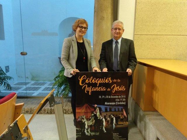 Ruz y Cabrera presentan 'Los coloquios de la infancia de Jesús'