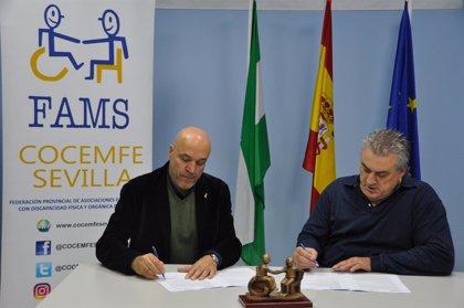 El PCT Cartuja y FAMS-Cocemfe Sevilla promueven el Centro Tecnológico Andaluz para el Diseño Universal