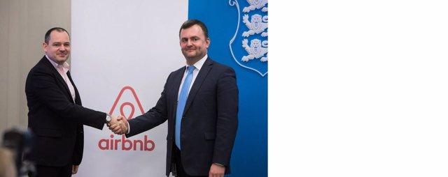 Acuerdo entre el Gobierno de Estonia y Airbnb