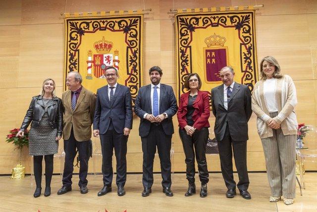 Acto institucional con motivo del 40 aniversario d e la Constitución Española