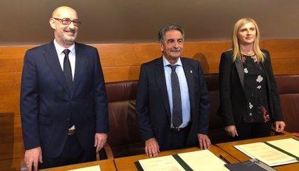 """Revilla agradece la """"responsabilidad"""" de Cs al pactar el presupuesto con PRC y PSOE"""