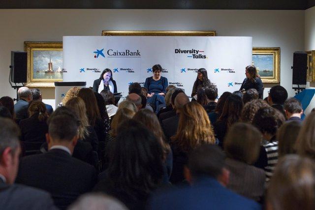 Sesión de 'Diversity Talks' en Londres