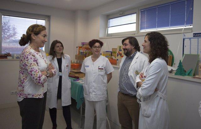 Martín visita Unidad Daño Cerebral Adquirido