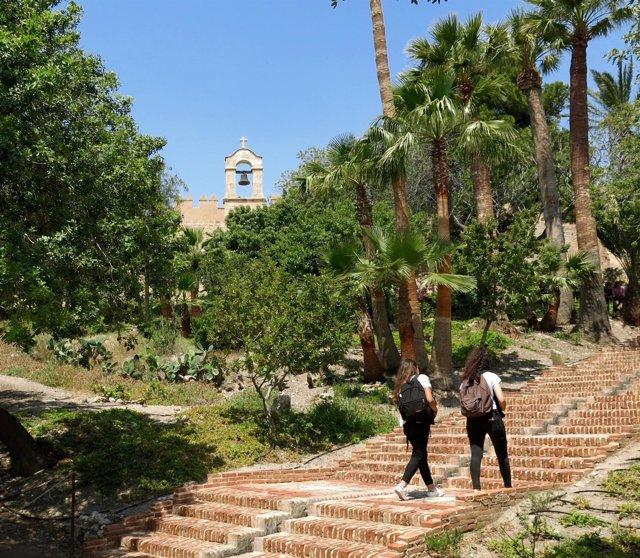 Uno de los recintos del conjunto monumental de la Alcazaba
