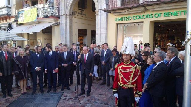 Acto por el 40 aniversario de la Constitución Española