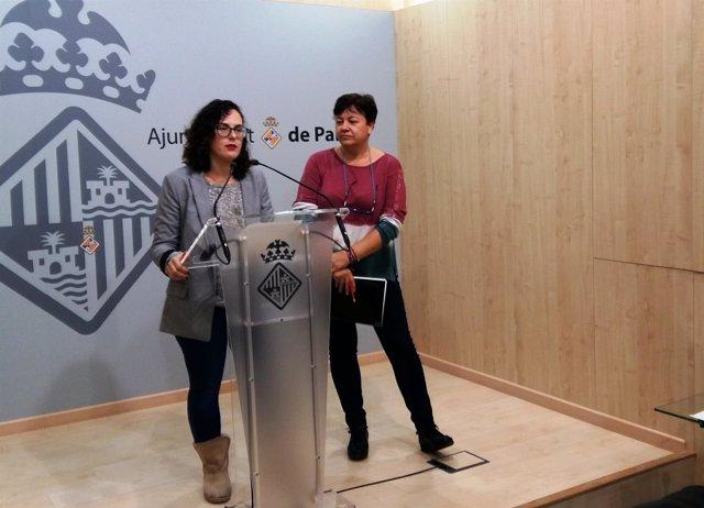 La regidora de Participación Ciudadana y Coordinación, Eva Frade