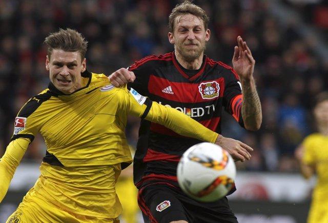 Bayer Leverkusen v Borussia Dortmund - German Bundesliga