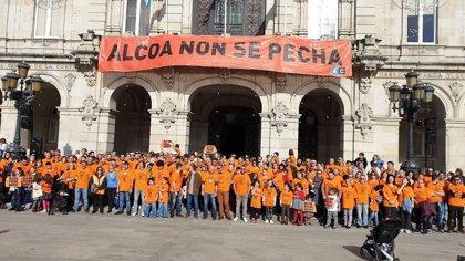"""El comité de Alcoa en A Coruña insta al Gobierno a """"pasar a la acción"""" al mantenerse la decisión de cierre"""