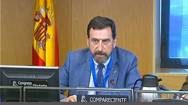 El director de la Ertzaintza, Gervasio Gabirondo, comparece en el Congreso