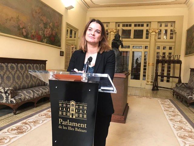 La portavoz del PP en el Parlament balear, Margalida Prohens