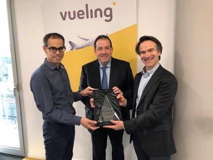 Vueling, aerolínea más innovadora del año en los Innovation Awards 2018 de Navitaire