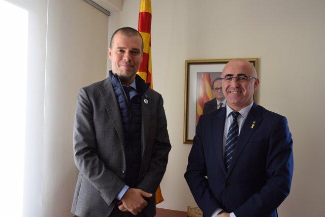 Josep Maria Cruset (Port de Tarragona) i Òscar Peris