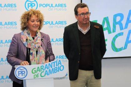 """Marín (PP) ve los resultados en Huelva capital como """"un acicate"""" en su reto de alcanzar la Alcaldía"""