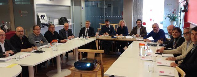 Mesa estratégica del aeropuerto de Andorra - la Seu, de La Seu d'Urgell