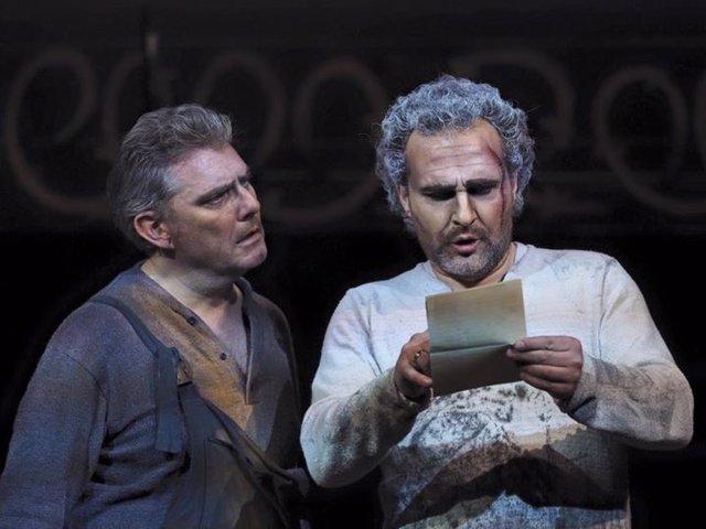 Obra teatral 'Juan José', en el Teatro de la Zarzuela