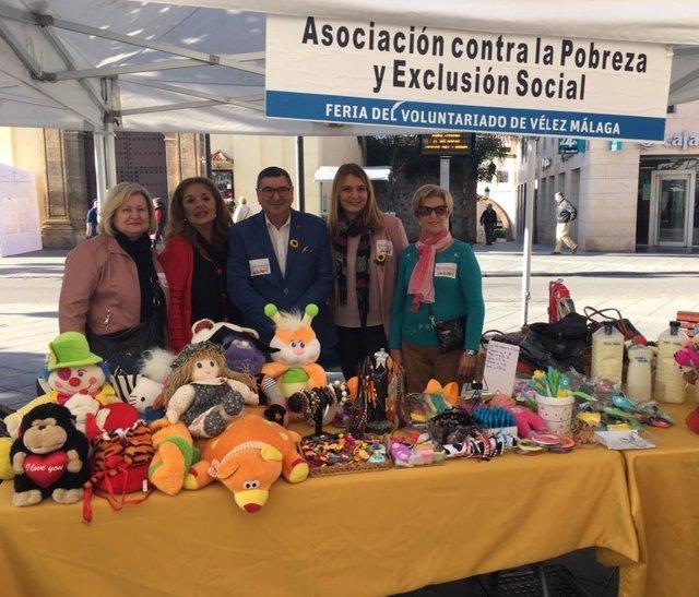 Feria del voluntariado de velez málaga gonzález y ferrer