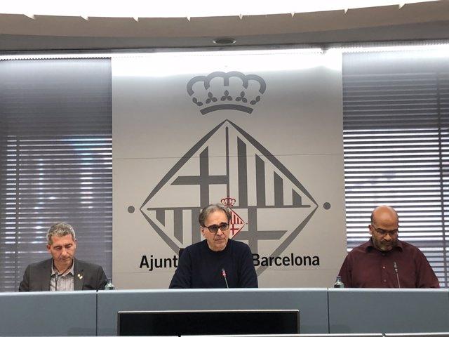 Josep Gonzàlez, Joan Subirats i Miguel Ángel Essomba