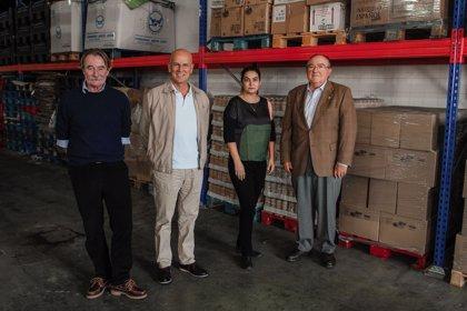 La Fundación Unicaja dona 5.000 kilos de comida al Banco de Alimentos que ayudarán a 18.000 personas