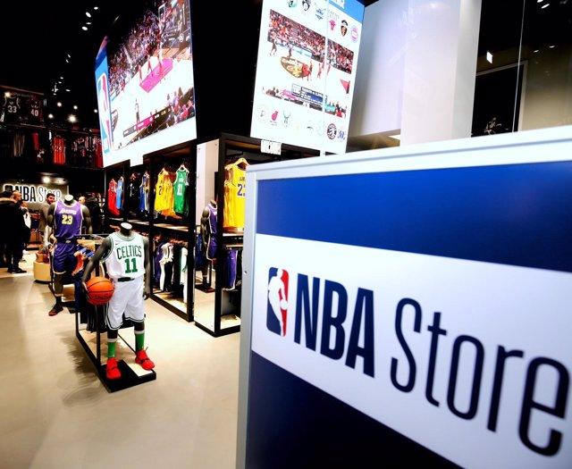 NBA Store en Europa