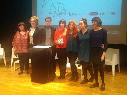 Barcelona lliura el premi Joves Creadores 2018 al curtmetratge 'Plaer adult'