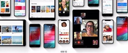 L'iOS 12 ja està present en el 70% dels dispositius mòbils d'Apple