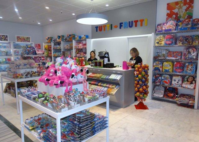 1d862c5ed22f El aeropuerto de Fuerteventura inaugura una nueva tienda de Tutti-Frutti