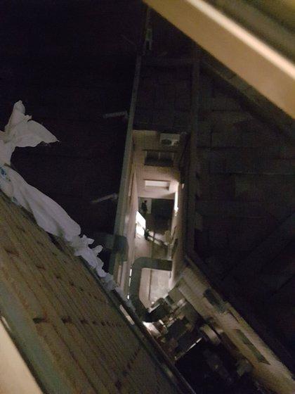Un detenido se fuga por una ventana del hospital Gregorio Marañón descendiendo con sábanas entrelazadas