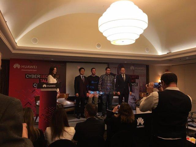 Evento 'Talente y Ciberseguridad' organizaco por Huawei España e Incibe