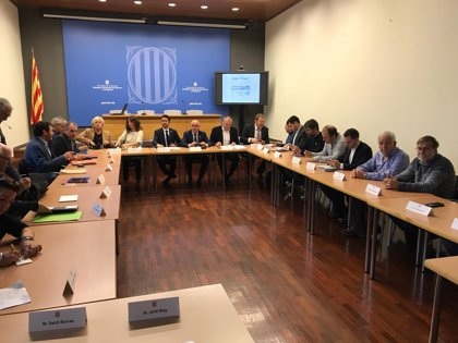 Calvet confía en lograr un acuerdo participativo para Siurana-Riudecanyes antes de verano