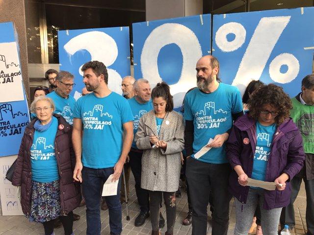 PAH Barcelona, Observatori Desc, Abts, Favb i Sindicat de Llogaters