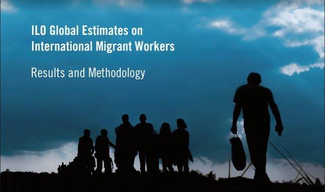 Portada del Informe de la OIT sobre trabajadores migrantes 2018