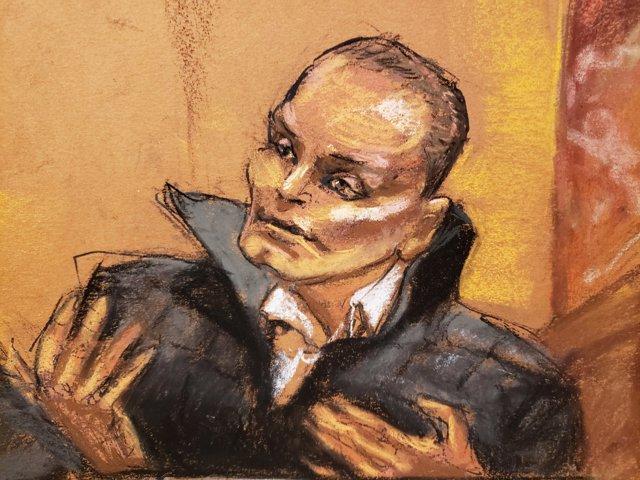 "Juan Carlos Ramirez Abadia testifies against accused Mexican drug lord Joaquin """