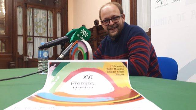 El coordinador provincial de Huelva del IAJ, Sebastián Pérez.