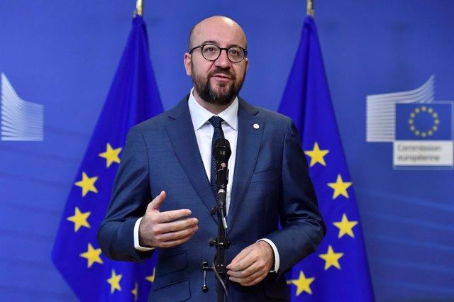Charles Michel, primer ministro belga