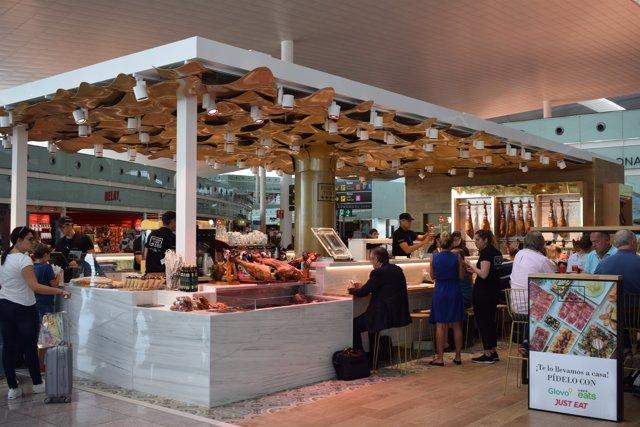 El nou establiment d'Enrique Tomás a l'Aeroport de Barcelona