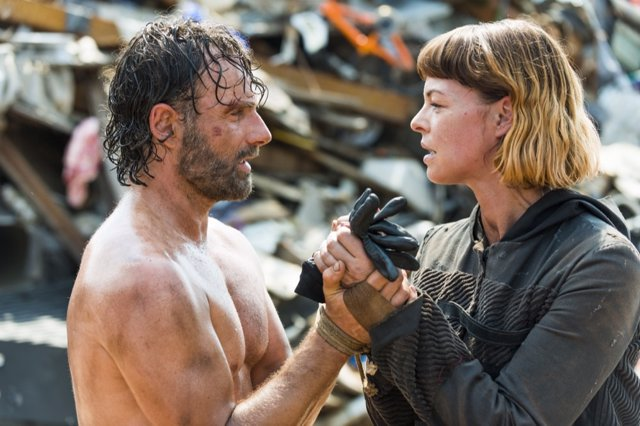 Rick y Jadis en The Walking Dead