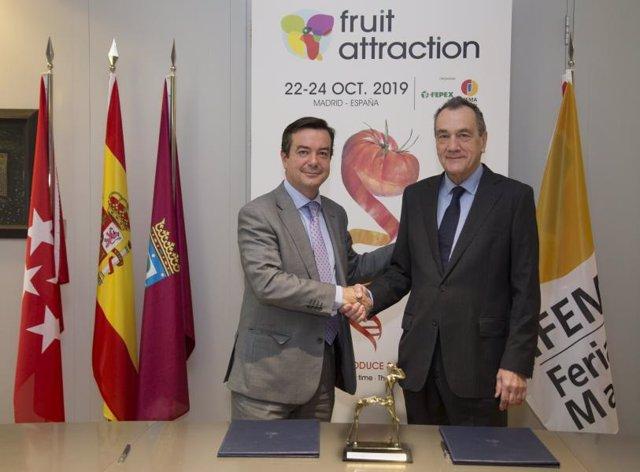 Firma entre Ifema y Ferpex