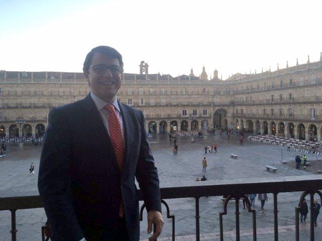Salamanca.- Alfonso Fernández Mañueco en su despedida