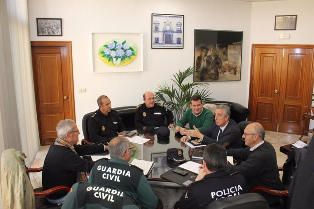 Reunión de coordinación del dispositivo de seguridad